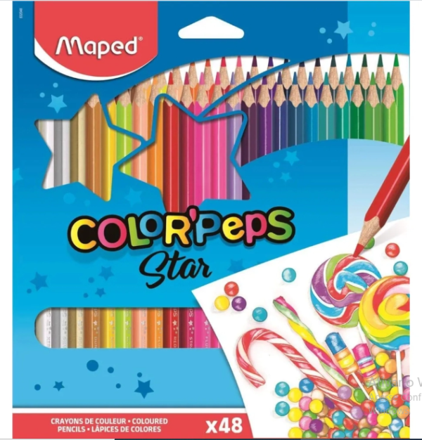 48 COLOEPEPS STAR MAPED