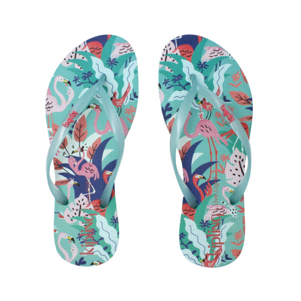 A.15 REF 80020 FlipFlop Print Metal X63 FLAMINGO PARTY scaled